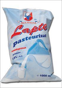 Lapte Pasteurizat semidegresat bucovina