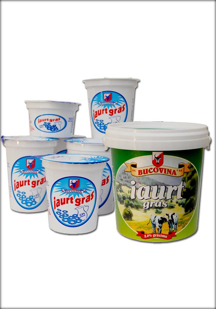 Iaurt Gras 2,8% Gr. bucovina sa